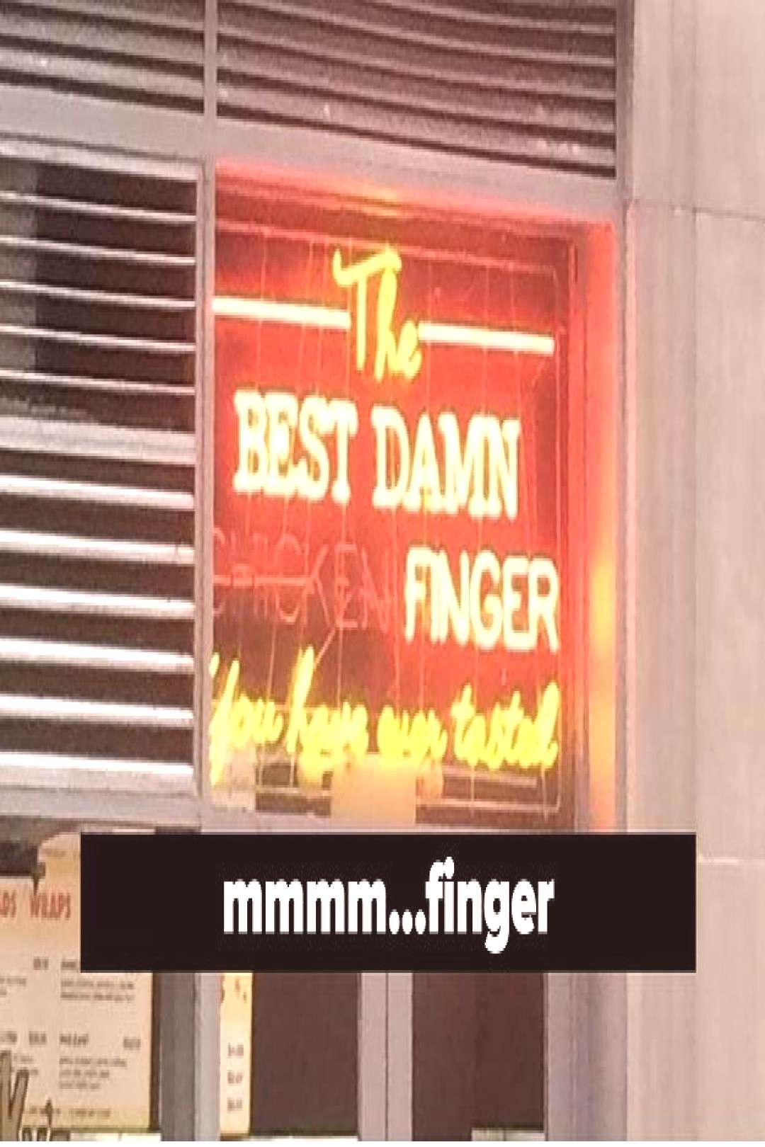 18 Accidentally Funny Photos That Are Such A Dang Coincidence , 1. Mmmm, finger. {