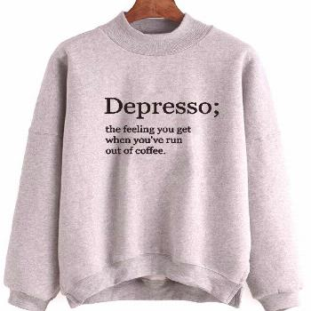 Depresso Definition Sweater