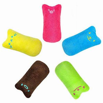 Didog 5 Pack Interactive Cat Catnip Toys Funny for Kitten