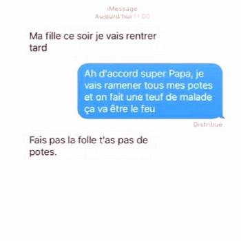 """Les Meilleurs SMS ? on Instagram: """"@sms_droles_ ?"""" - Tiphaine Wrede -"""