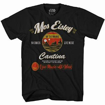 STAR WARS Mos Eisley Cantina Tatooine Men's Adult Graphic