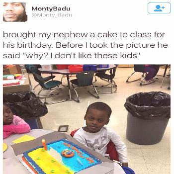This kid who knows he doesn't have to pretend: 16 Kids Who Are Figuring Out Life Faster Than You Ar