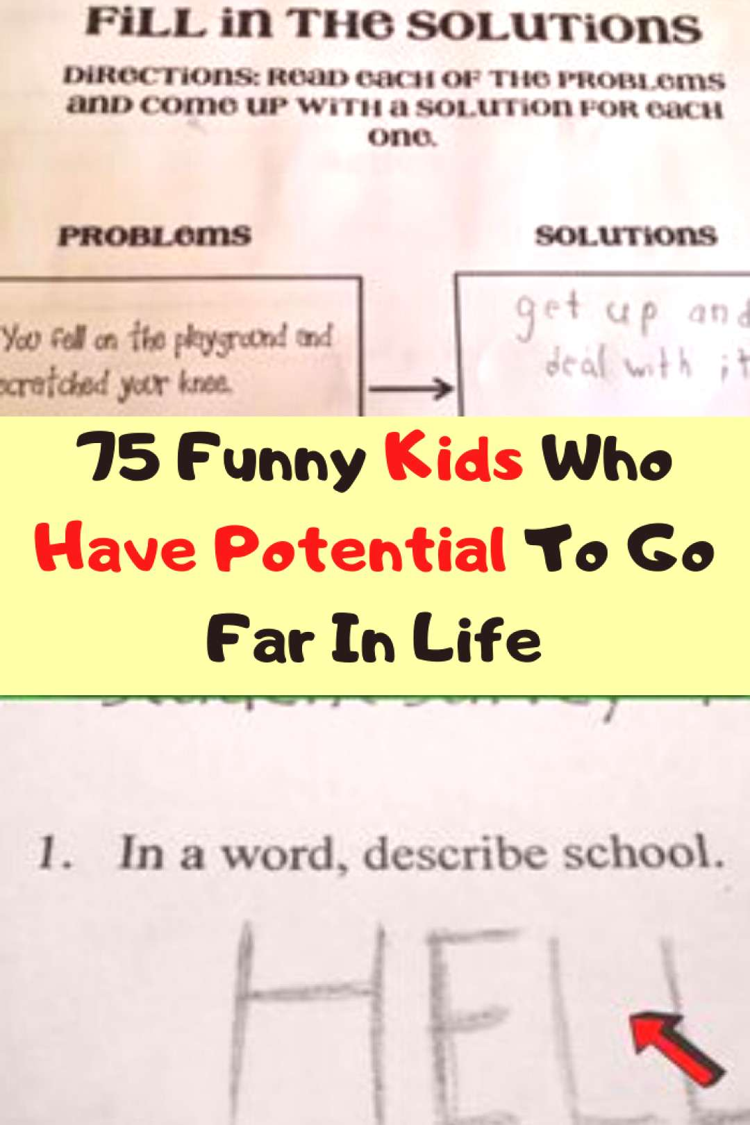 75 Funny Kids Who Have Potential To Go Far In Life