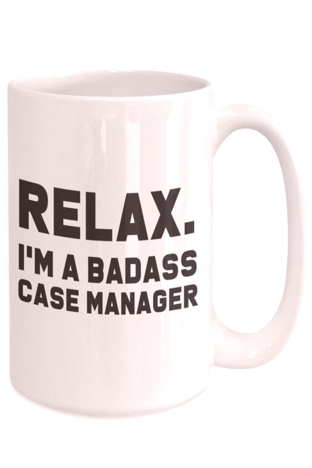Badass case manager gift for case manager gift case manager | Etsy