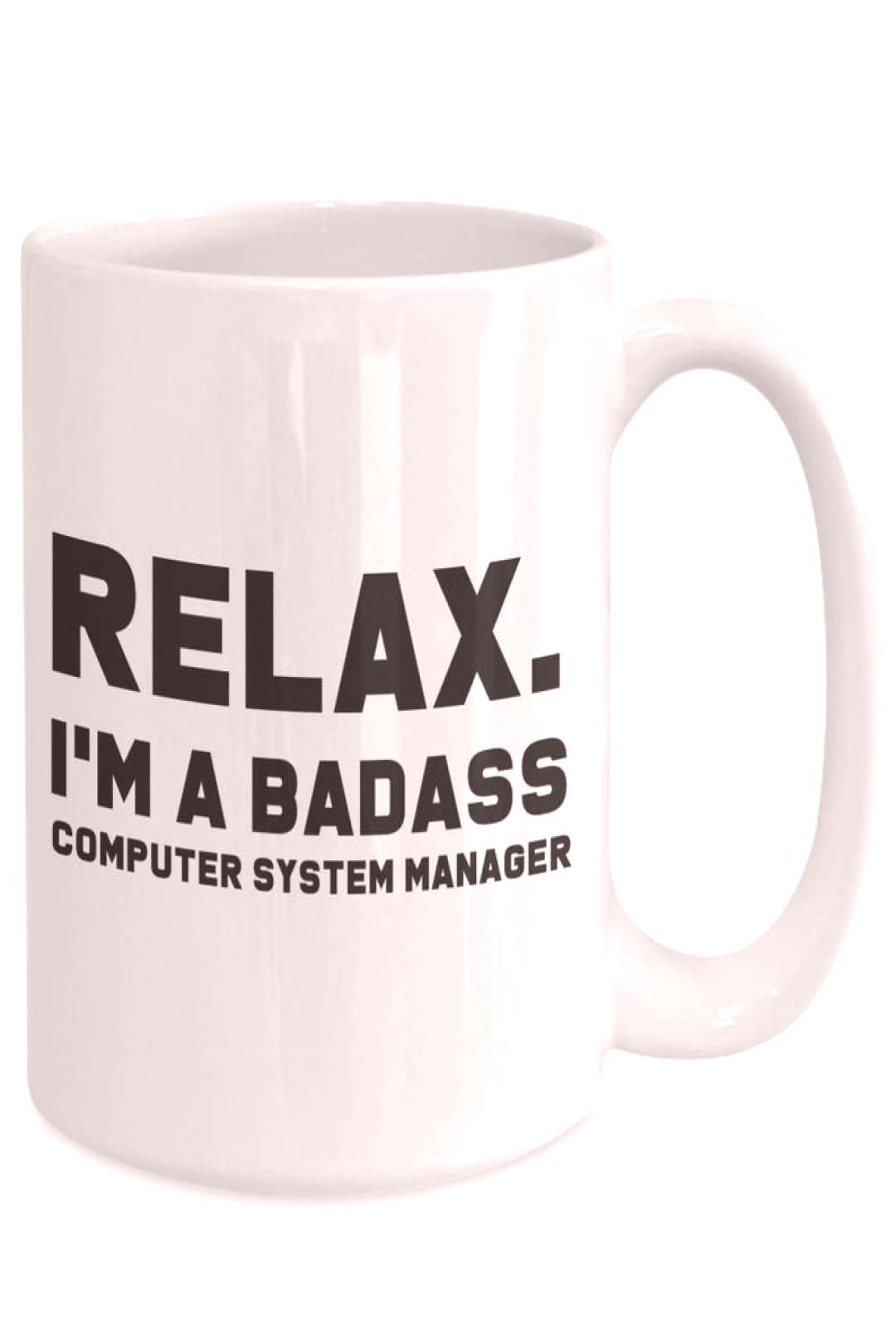 Badass computer system manager gift for computer system | Etsy