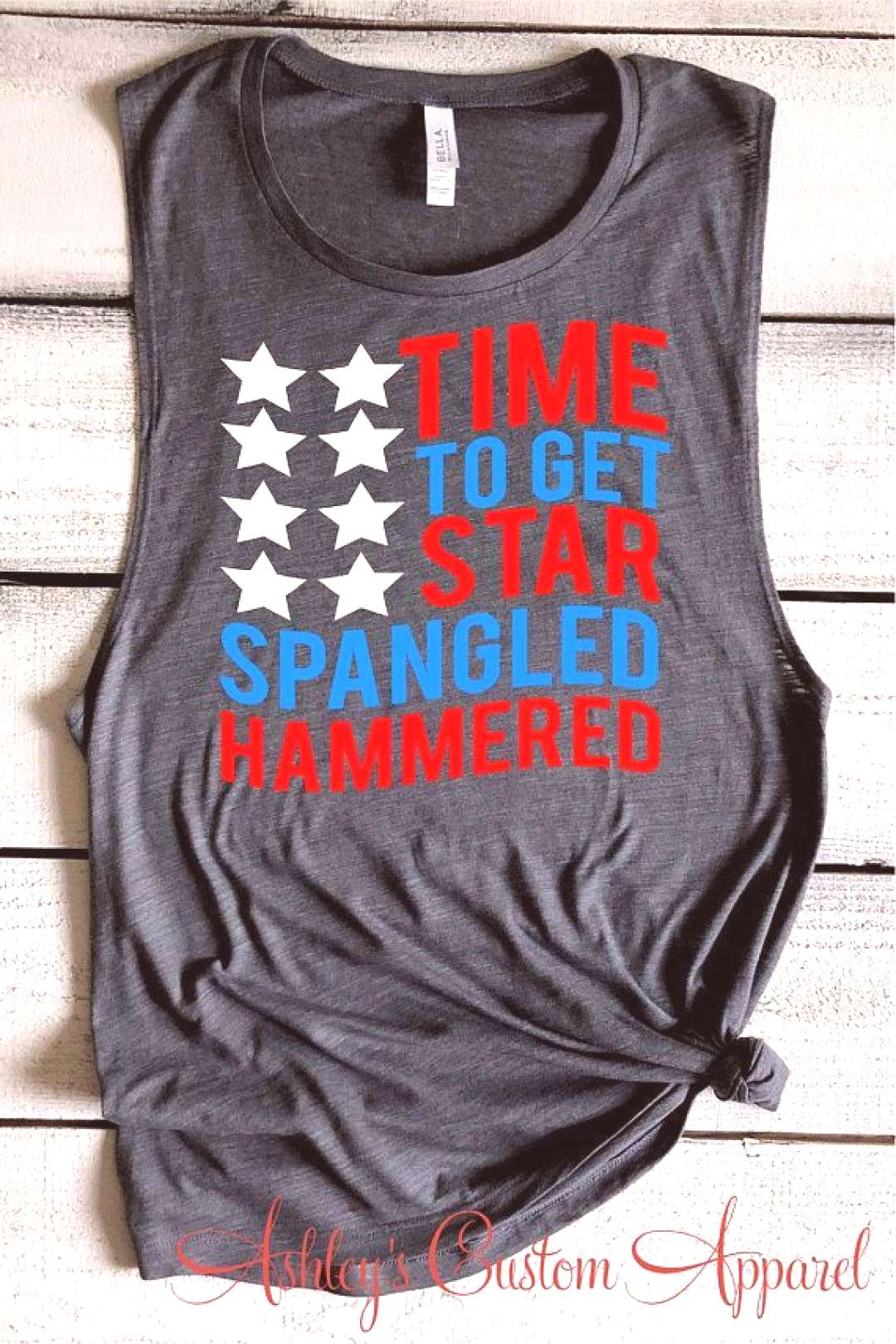 Funny Fourth Of July Shirt Time To Get Star Spangled Hammered Funny Drinking Shirts For The Fourth