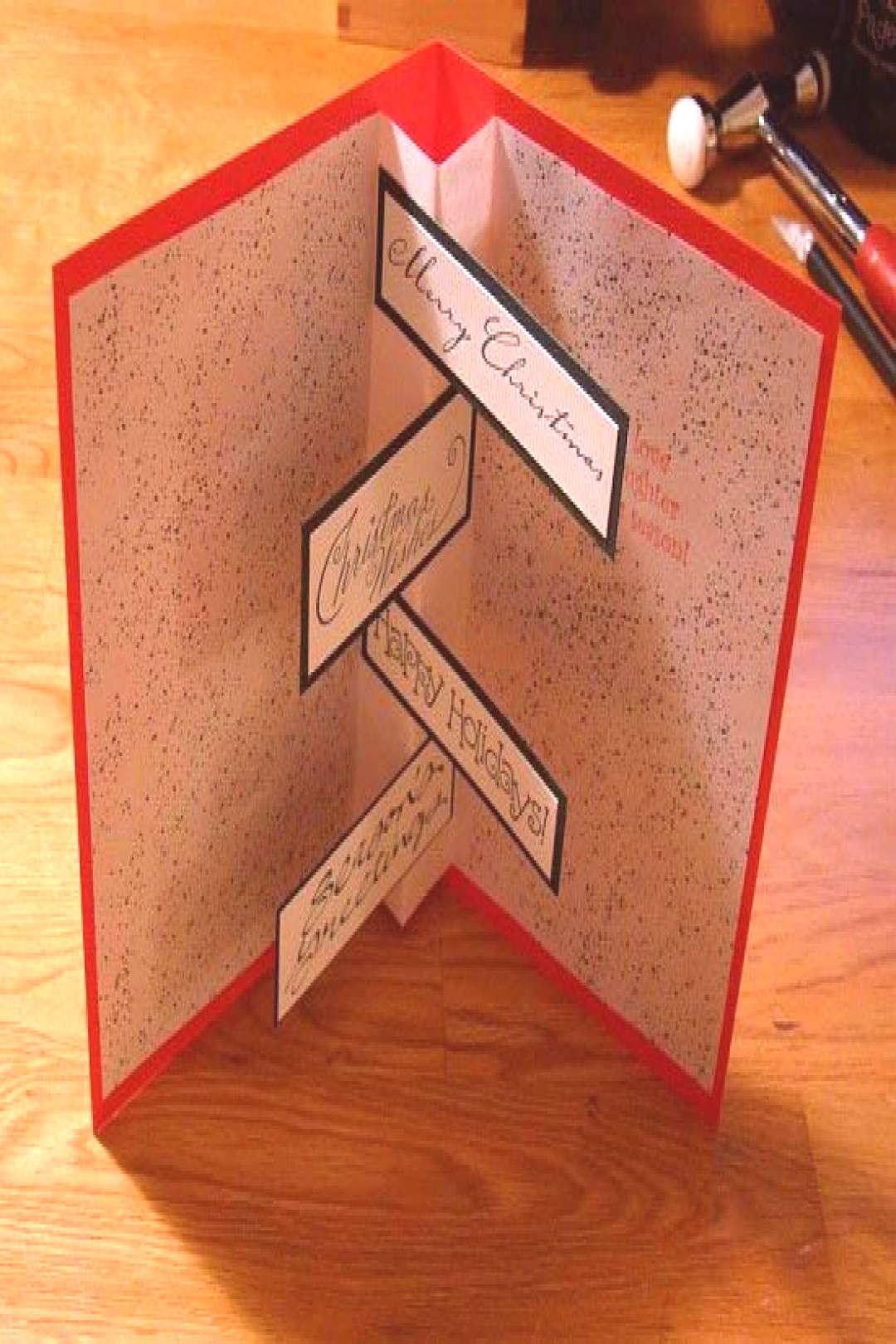 Handmade Christmas Card Ideas 2012