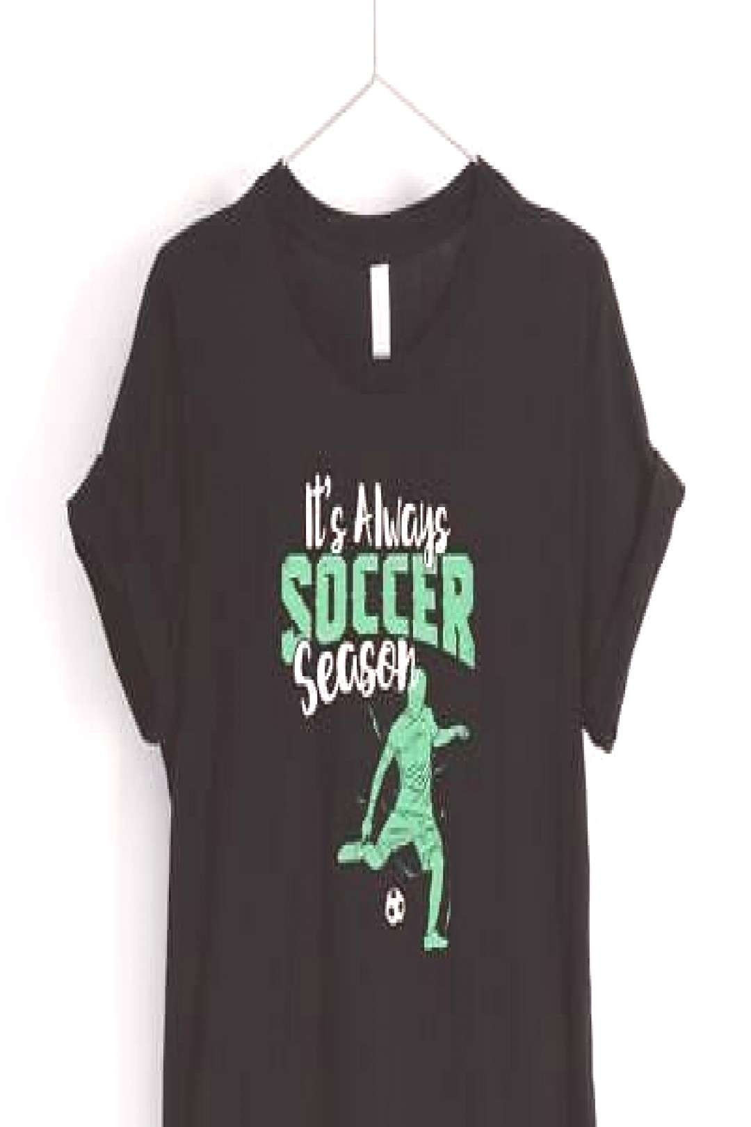 Its Always Soccer Season Unisex Shirt Funny Soccer T-Shirt soccer gifts (ebay link)