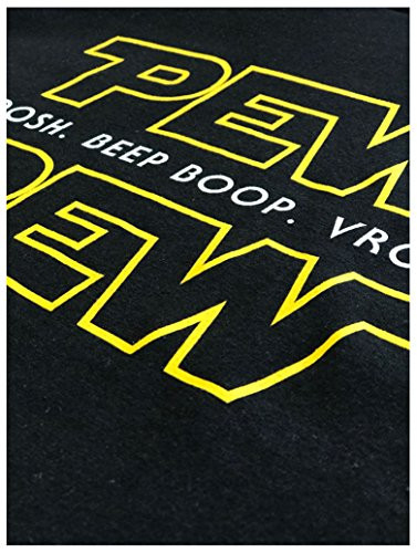 Pew Pew Wars   Funny Sci-fi Space Star Noises Science for