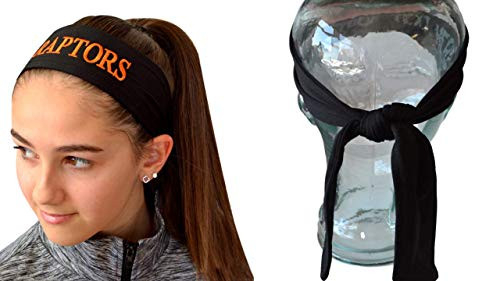 Soccer Headband Moisture Wicking TIE Back Personalized with